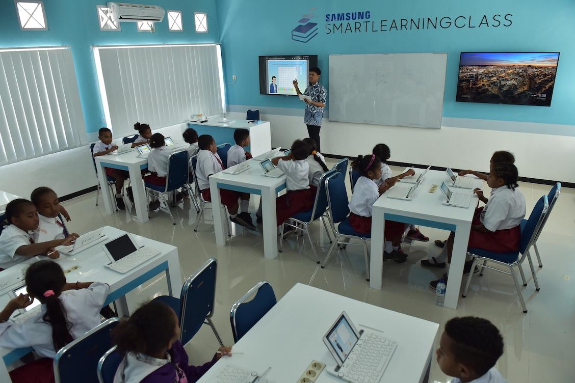 Tiga Fakta Murid Lebih Senang Belajar di Kelas Digital Samsung