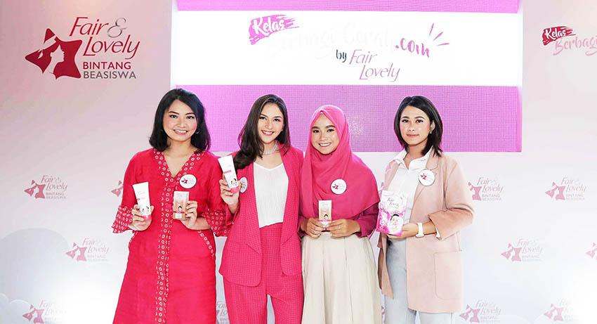 Fair & Lovely Dukung 60 Wanita Muda Berprestasi