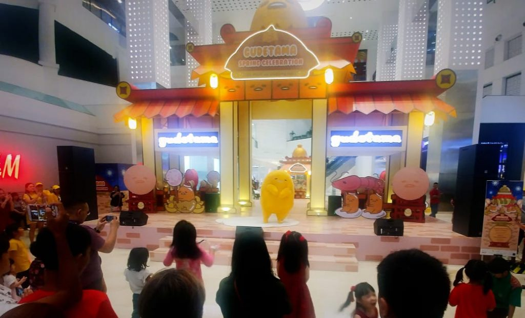 Gudetama Hadir Di Mall Of Indonesia