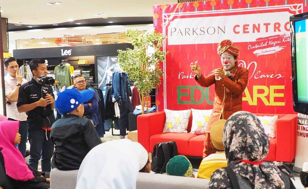Parkson Centro Tingkatkan Literasi dan Minat Baca Anak di NTT