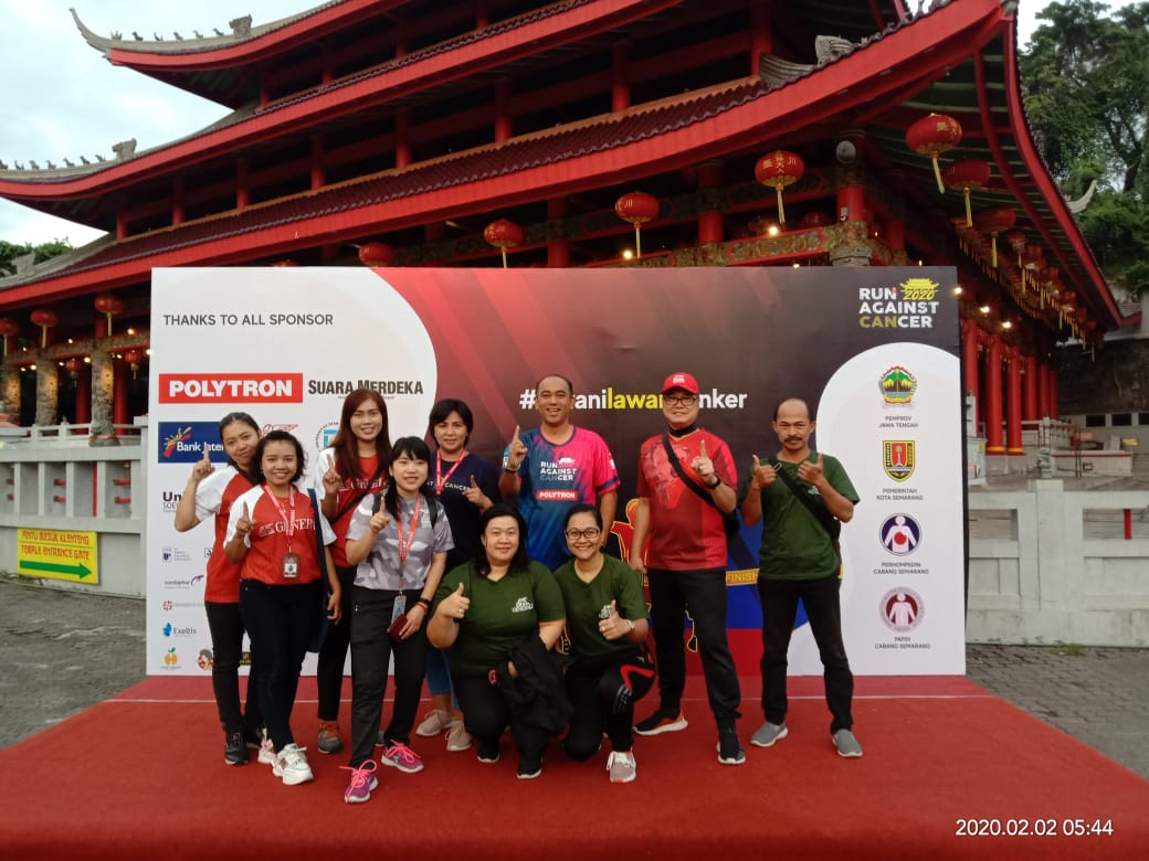 Generali Dukung Run Against Cancer 2020