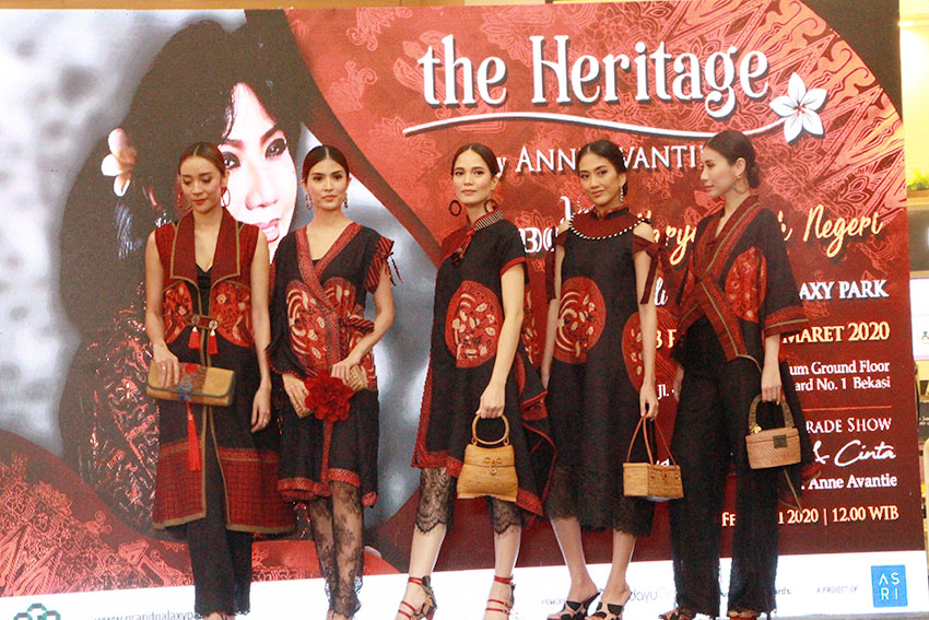 Grand Galaxy Park Gandeng Anne Avantie Suguhkan The Heritage