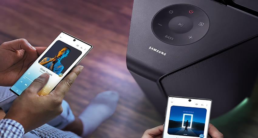 Ramaikan Pesta dengan Samsung Giga Party Audio