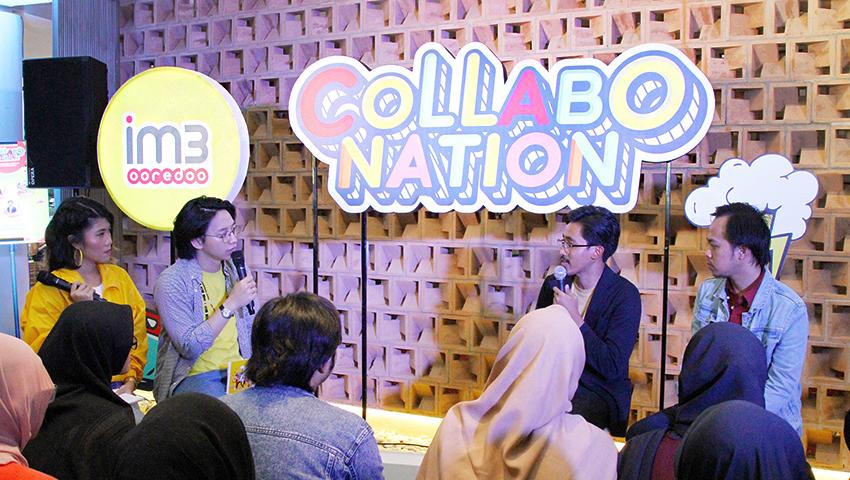 IM3 Ooredoo Persembahkan Collabonation di M Bloc