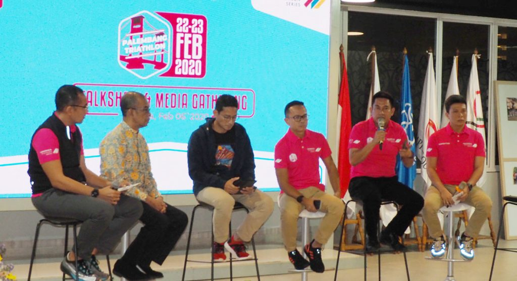 Palembang Triathlon Awali ITS 2020