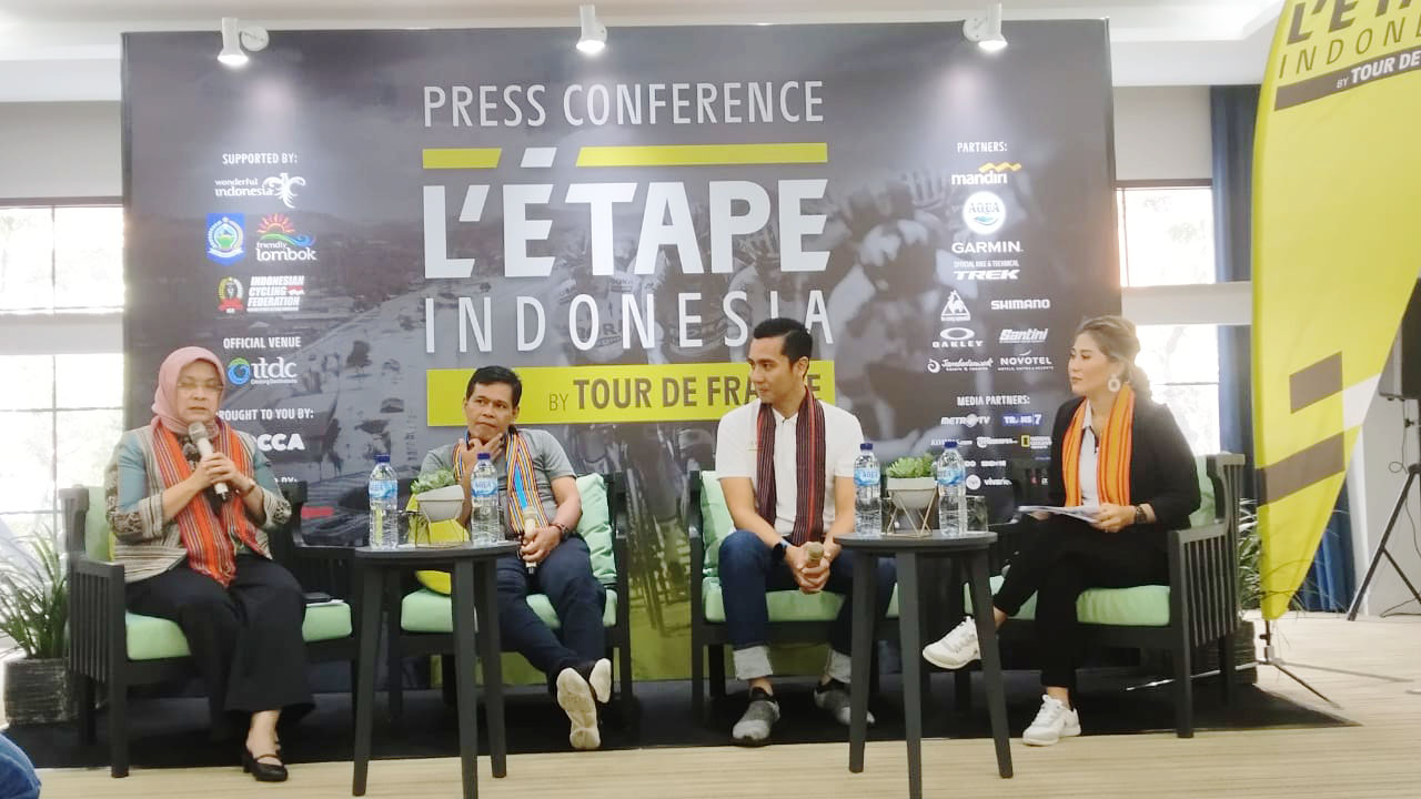 L'Etape Indonesia Boyong Tour De France ke Lombok