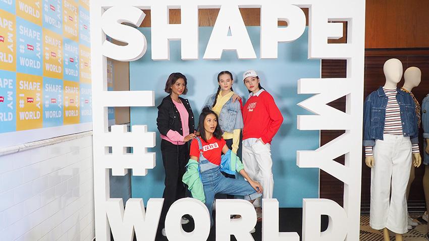 "Rayakan Hari Perempuan Internasional, Levi's Kampanyekan ""I Shape My World"""