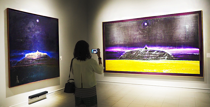 "Pameran ""SRIHADI SOEDARSONO-Man x Universe"" Berlangsung di Galeri Nasional"
