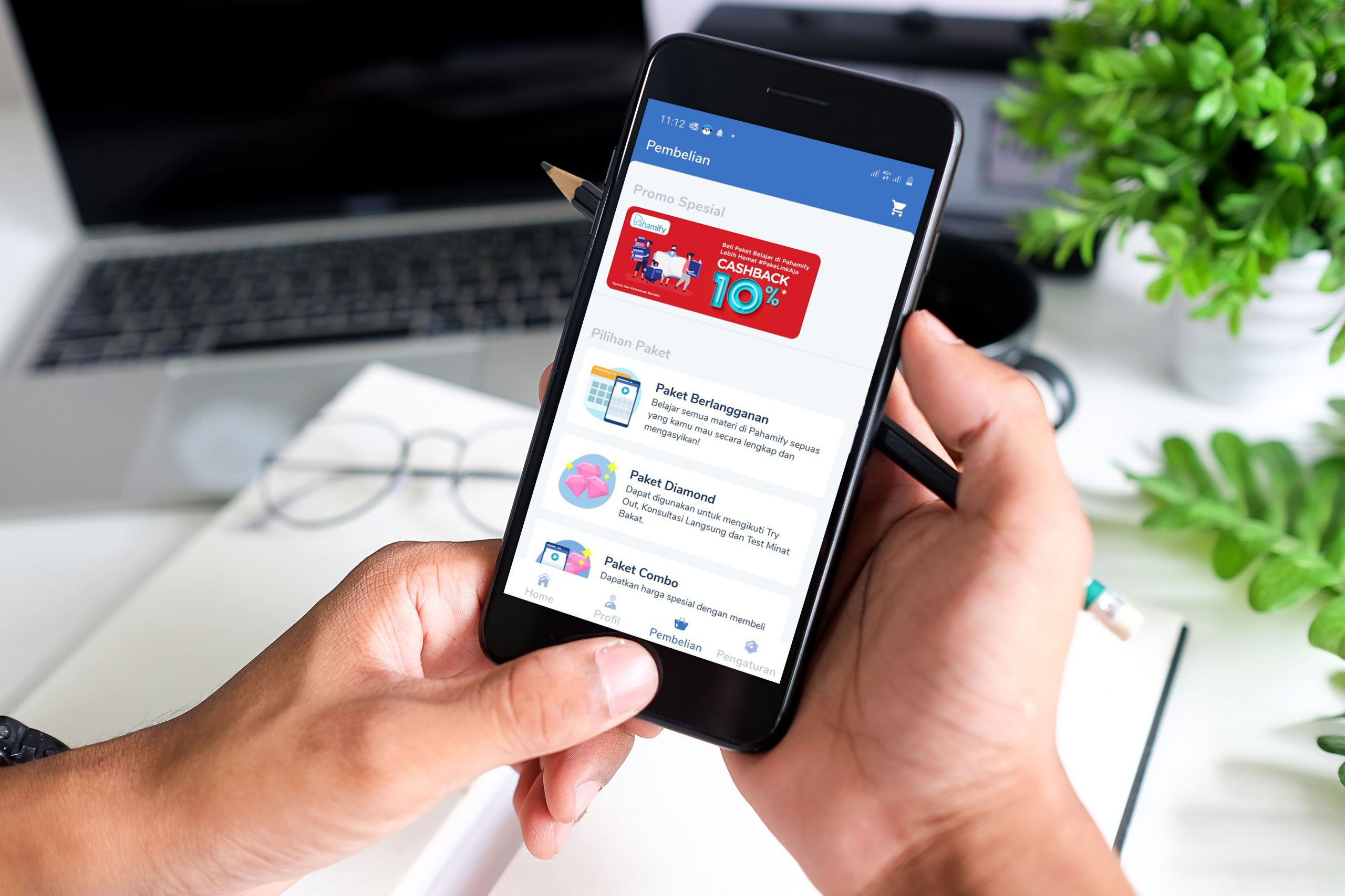 Kolaborasi LinkAja dengan Pahamify Dukung Kemudahan Belajar Online