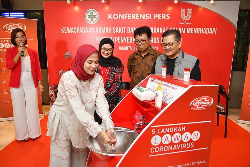 PERSI dan Unilever Indonesia Bersiap Hadapi COVID-19