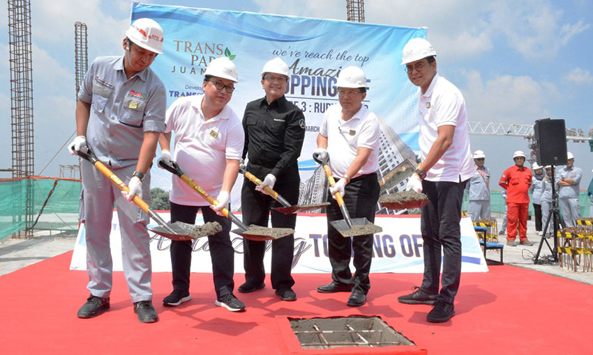 Transpark Juanda Lakukan Topping Off Phase 3