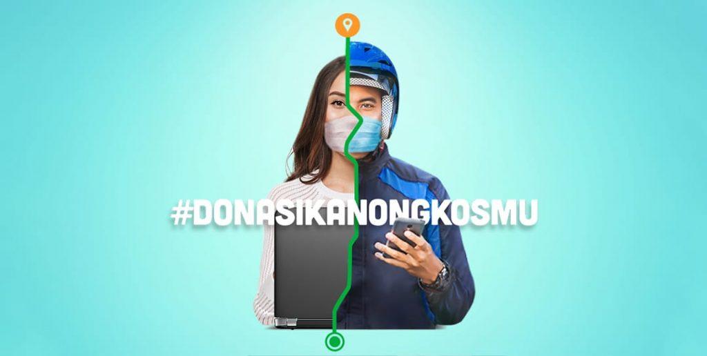 Dentsu Kampanyekan #DonasikanOngkosmu
