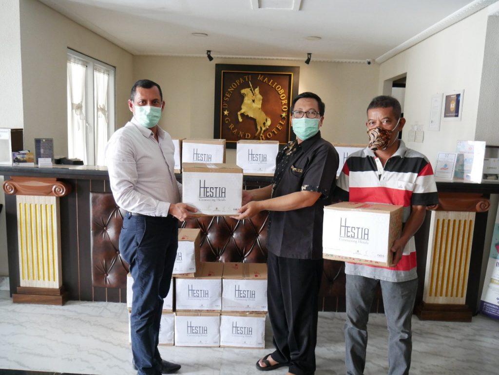 Aksi Peduli Hestia Connecting Hotels