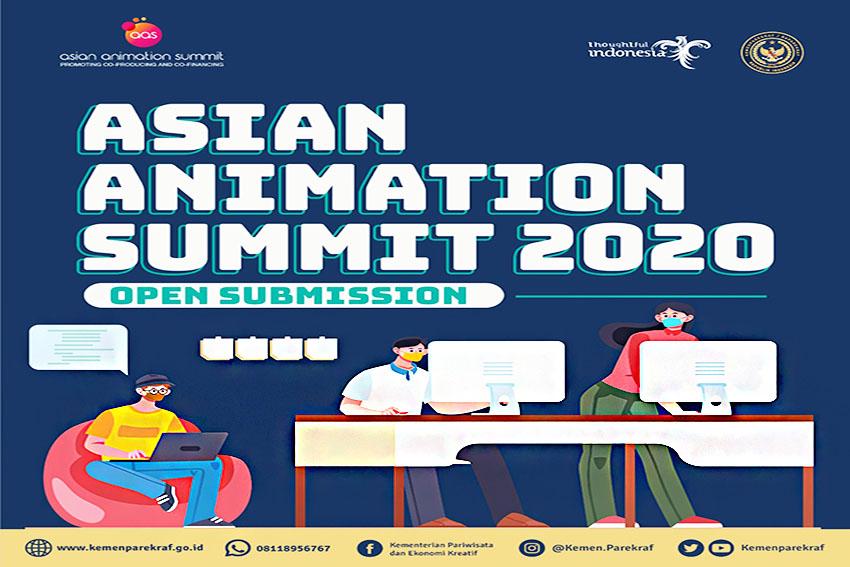 Ayo Tetap Produktif dengan Mengikuti Asian Animation Summit 2020