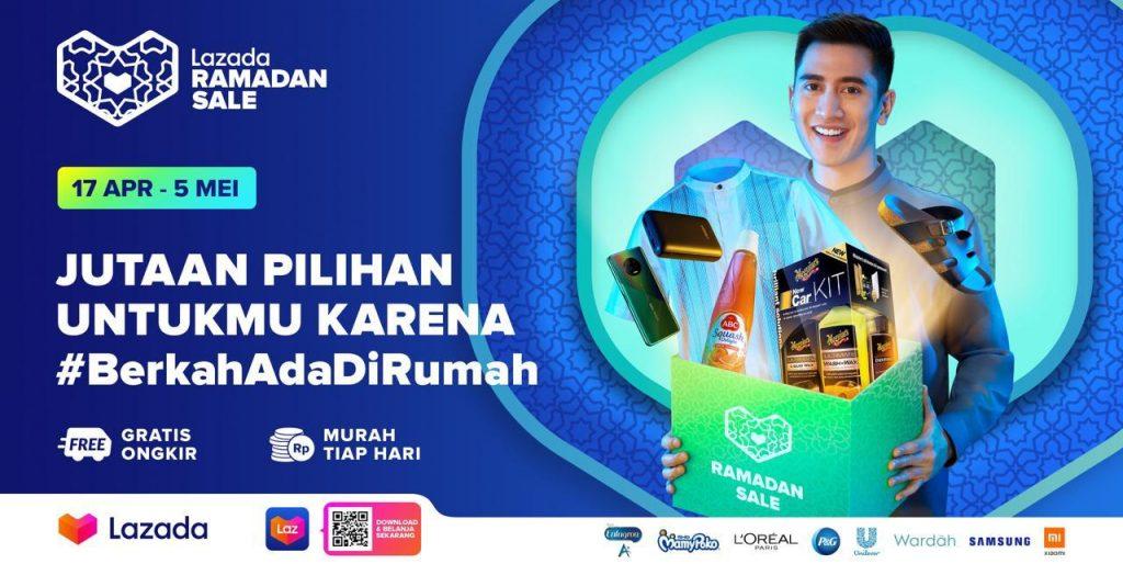 Ceria Ramadan di Rumah dengan Lazada Shoppertainment