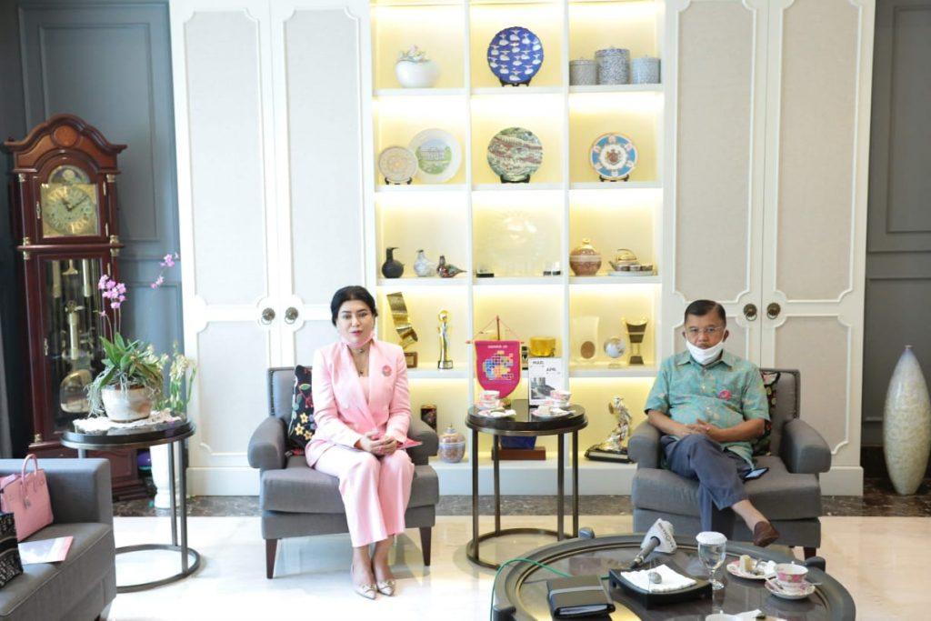 Sigap Bantu Tangani Pandemi, Jusuf Kalla Raih Apresiasi dari Presiden WOCPM