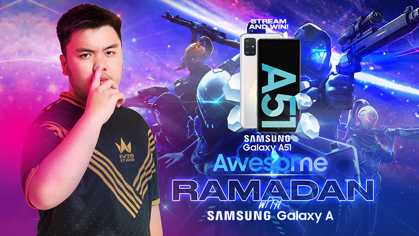 Tips Main Free Fire di Samsung Galaxy A51