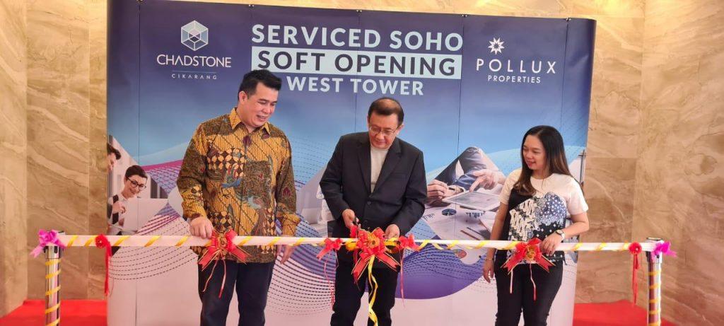 Dorong Percepatan Ekonomi Jawa Barat, Pollux Properti Hadirkan SOHO Pertama Di Cikarang