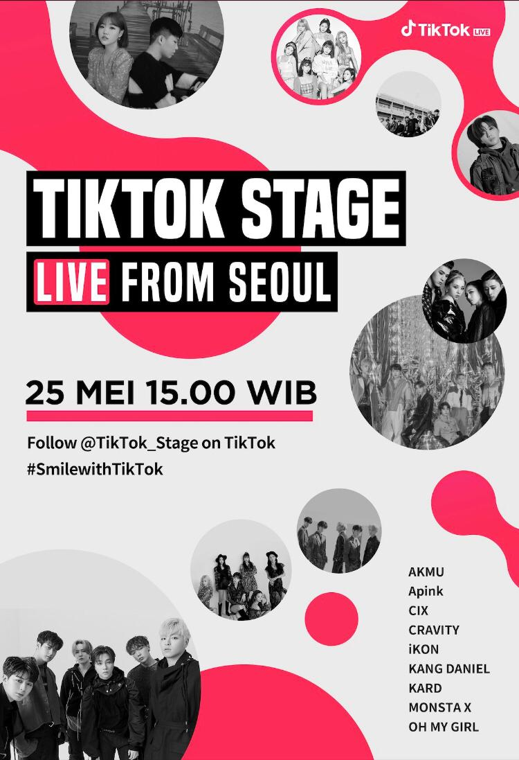 Galang Dana Bantuan COVID-19, TikTok Luncurkan Konser K-POP Live