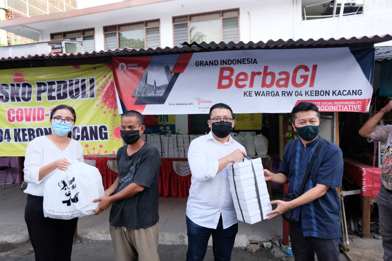 Grand Indonesia Gelar Program CSR BerbaGI
