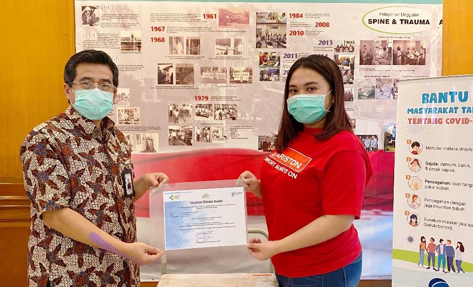 Ariston Thermo Indonesia Donasikan 150 Water Heater Ke Rumah Sakit Rujukan Covid-19 Di Jakarta