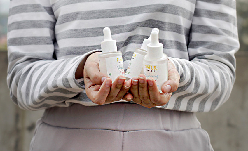Rayakan Anniversary, NATUR Hadirkan Produk Skin Care Teranyar