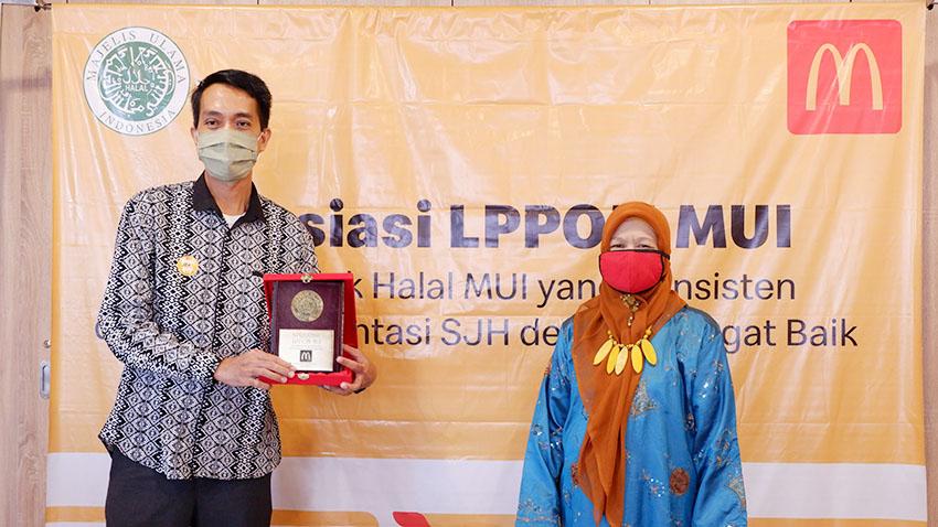 McDonald's Indonesia Raih Penghargaan dari LPPOM MUI