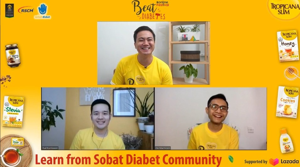 Tropicana Slim Ajak Masyarakat Aktif Lawan Diabetes