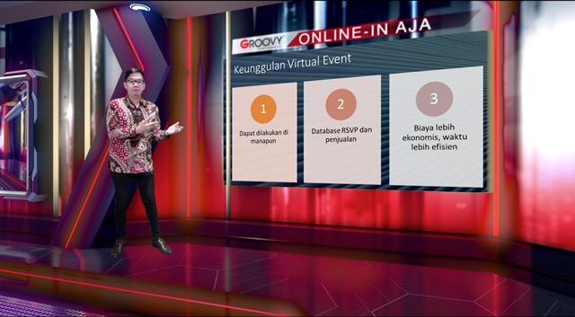 Groovy EO Luncurkan Konsep Virtual Event