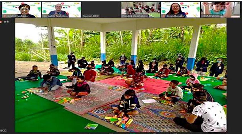 Rayakan Hari Anak Nasional 2020, Herbalife Nutrition Dukung Kreatifitas Anak-anak