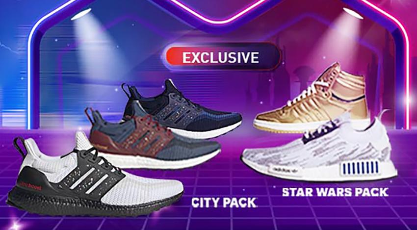 Adidas Edisi Khusus Star Wars dan City Pack Hadir di Lazada