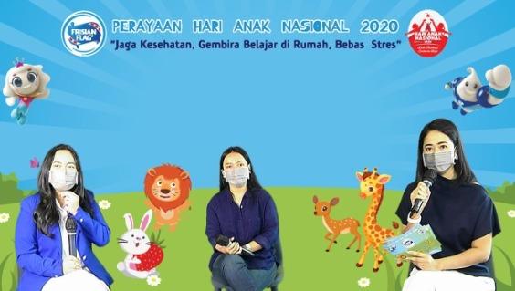 Momentum HAN 2020; Jaga Kesehatan Anak, Gembira Belajar di Rumah, dan Bebas dari Stres