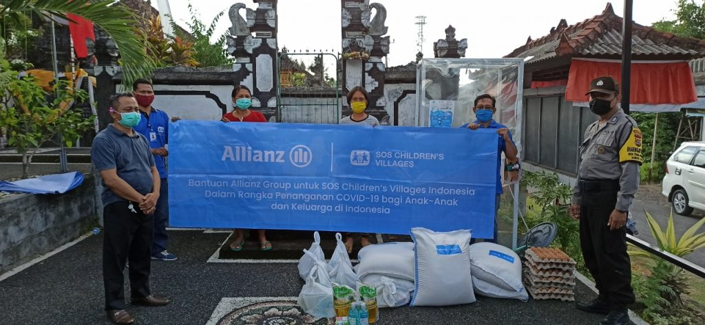 Allianz Group Bantu Penanganan COVID-19 di Bali, Flores, dan Palu