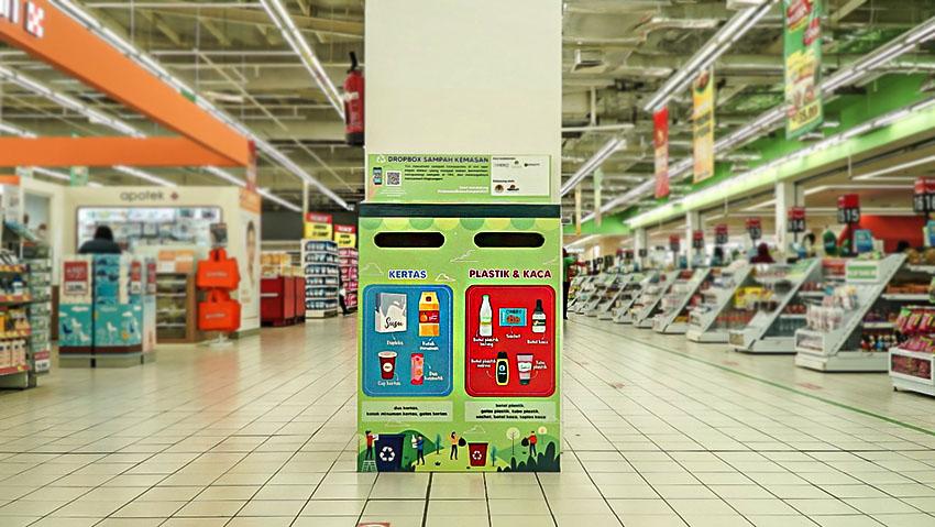 Wujudkan Indonesia Bebas Sampah 2030, Program Dropbox Sampah Kemasan Dirilis