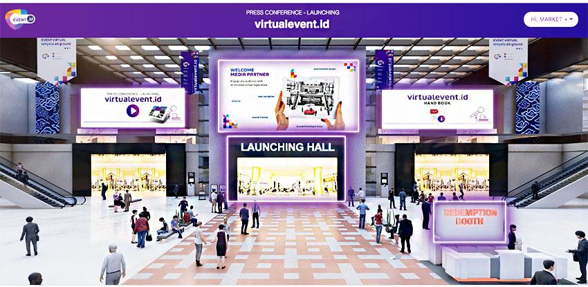 Virtualevent.id Hadirkan Inovasi untuk Industri MICE Tanah Air di Tengah Pamdemi