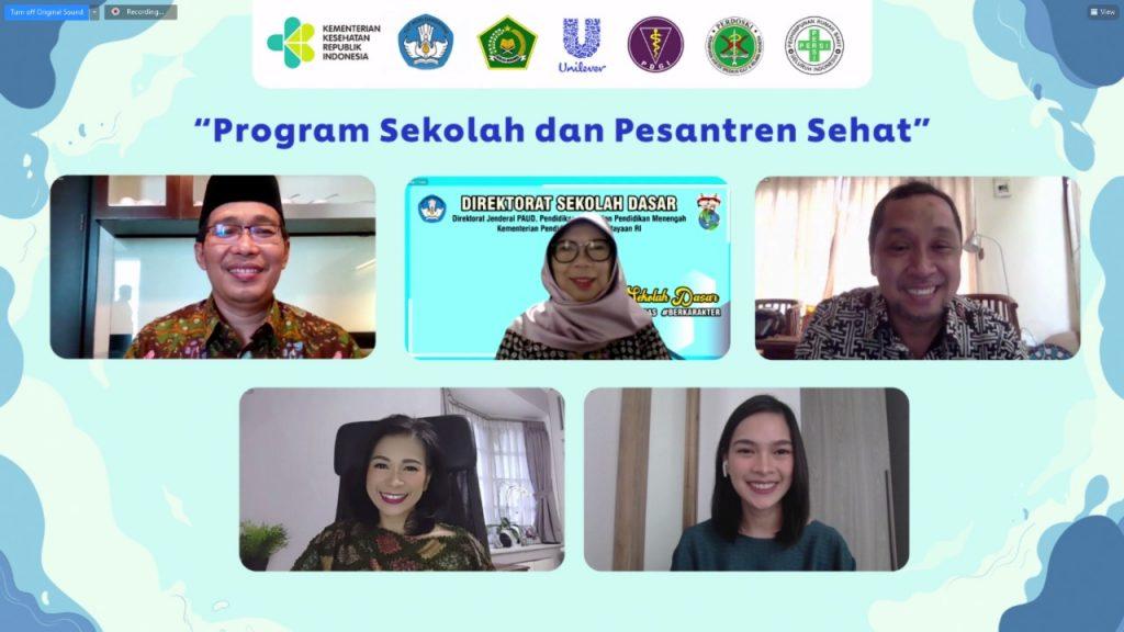Unilever Indonesia Kembali Hadirkan Program Sekolah dan Pesantren Sehat
