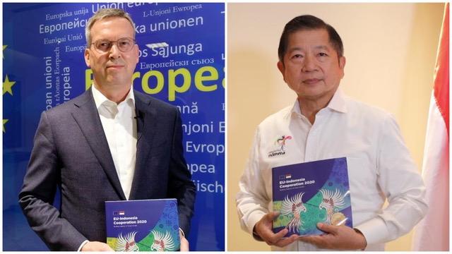 Tegaskan Komitmen Pengembangan Kapasitas Dan Pertumbuhan Ekonomi Hijau, EU-Indonesia Cooperation Publication 2020 Dirilis