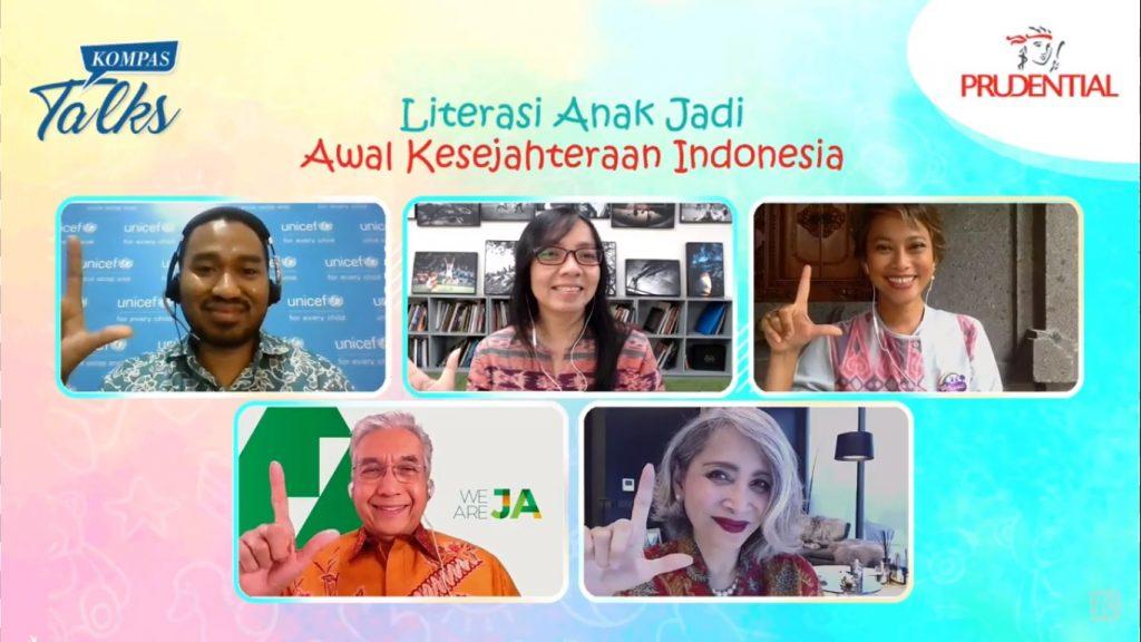 Prudential Perkuat Literasi Lebih dari 200.000 Anak Indonesia