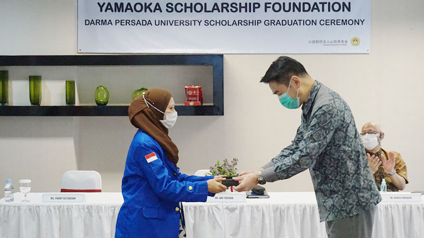 Yamaoka Scholarship Foundation Gelar Acara Wisuda Beasiswa Pertama untuk Mahasiswa di Indonesia