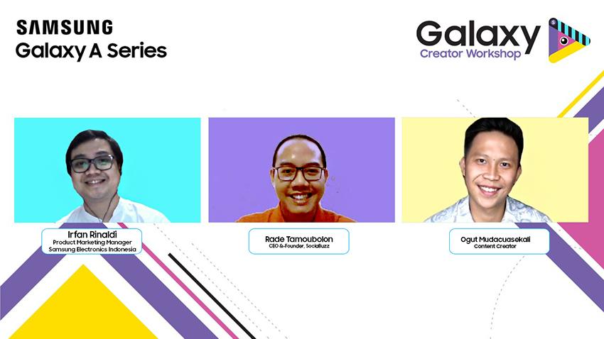 MendalamiContent Creator di Galaxy Creator Workshop