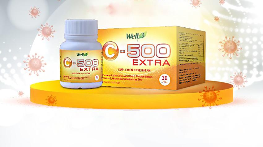 CNI Hadirkan Well3 C-500 Extra untuk Meningkatkan Sistem Imun di Masa Pandemi
