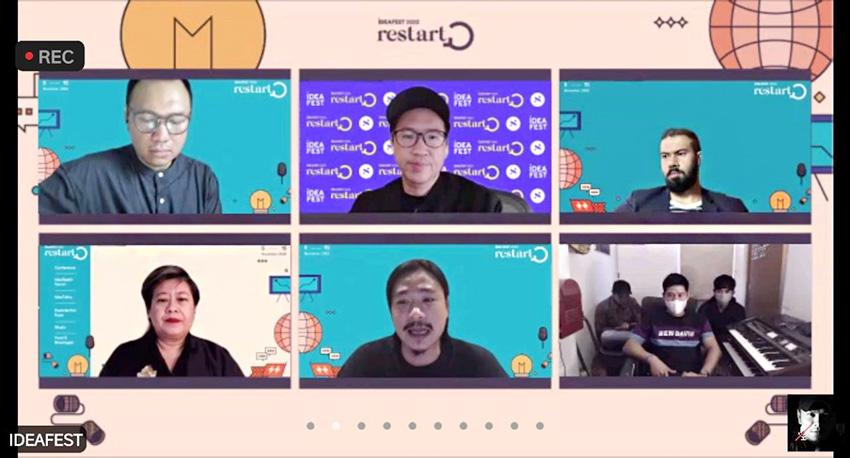 "Festival Kreatif Virtual IDEAFEST 2020 ""Restart"" Resmi Digelar"