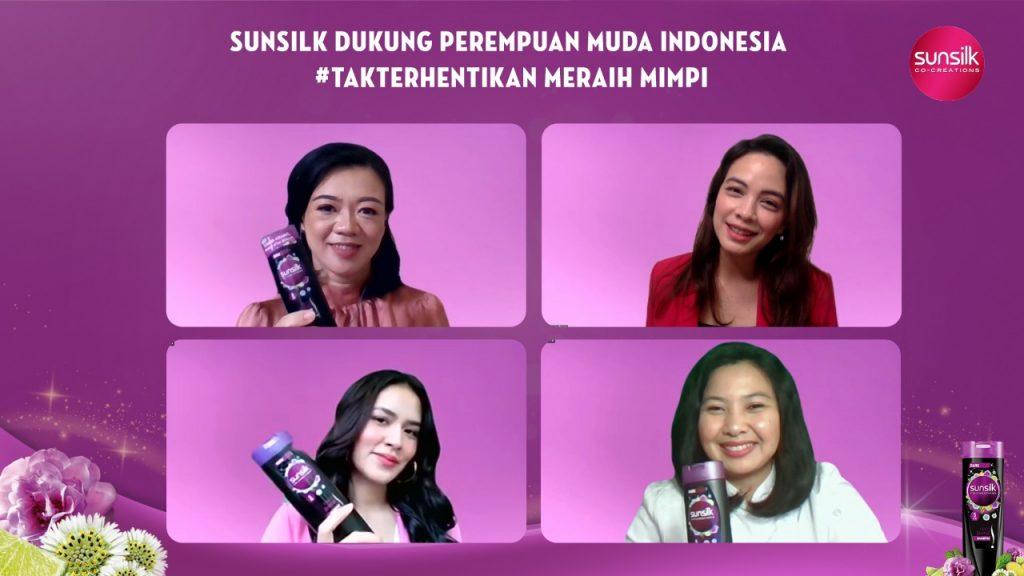 Sunsilk Dukung Perempuan Indonesia #TakTerhentikan Meraih Mimpi