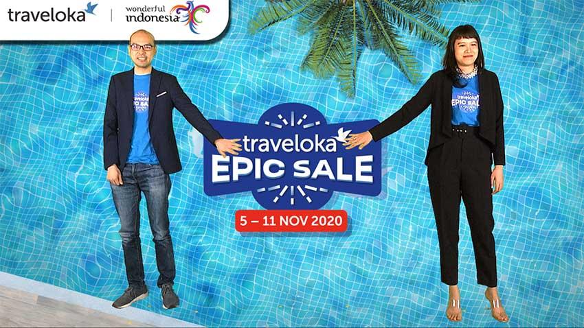 Traveloka Gelar EPIC SALE 2020
