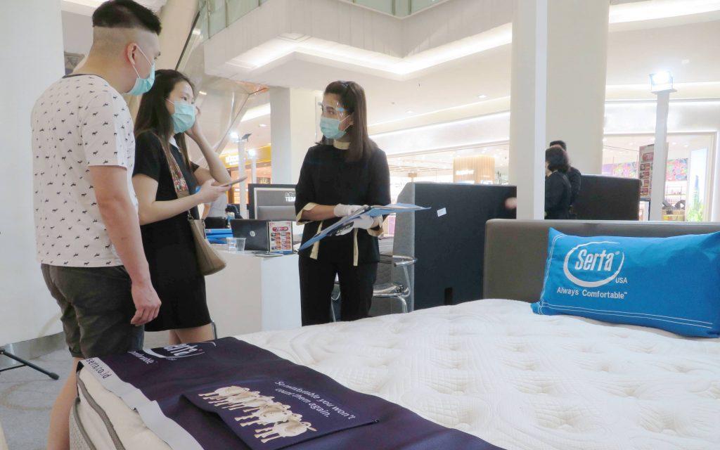 DAP Tawarkan Clearance Sale Produk Matras Akhir Tahun