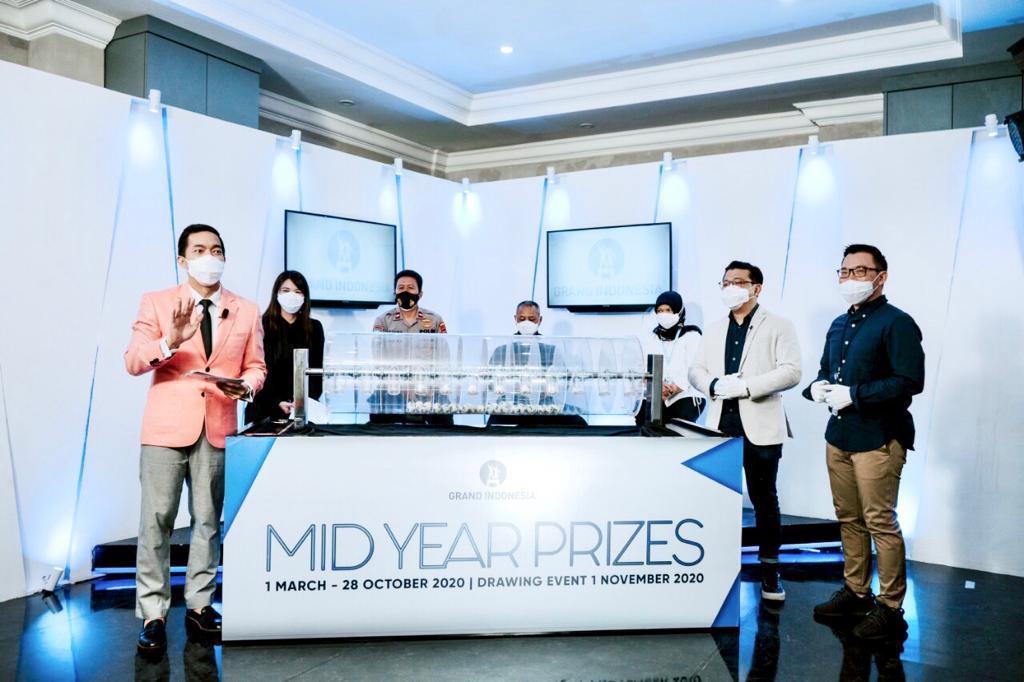 Grand Indonesia Mid Year Prizes Digelar Virtual
