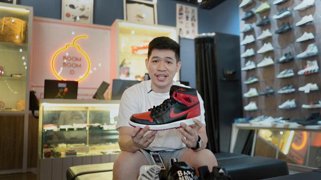 Reynard Gozali Sukses Awali Bisnis Sneakers dari Socmed