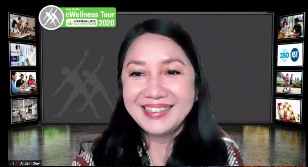 Herbalife Nutrition Gelar e-Wellness Tour 2020
