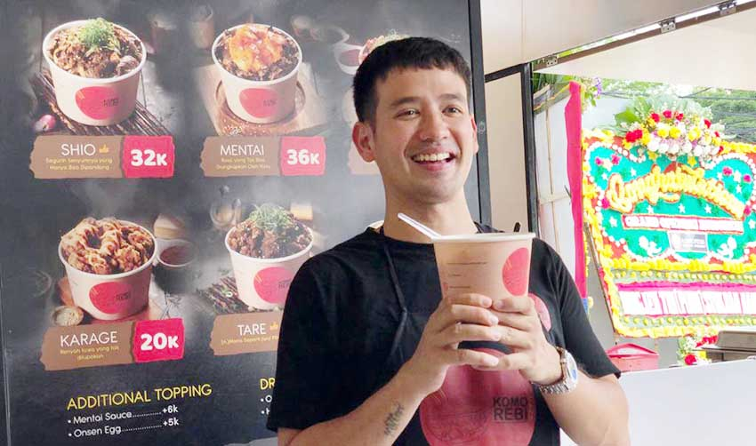 Tarra Budiman dan Simhae Hadirkan Japanese Fast Food KOMOREBI