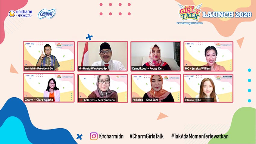 "Uni-Charm Indonesia Luncurkan Website ""Charm Girl's Talk"""